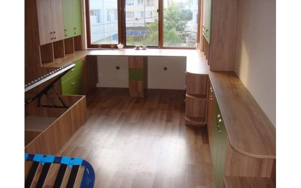 """Детска стая по индивидуален проект """"Киви"""""""