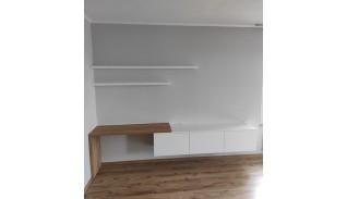 """Конфигурация от ТВ шкаф и бюро за дневна """"Луиза"""""""