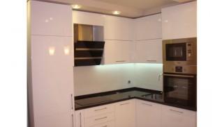 Кухня по индивидуален проект Фара 6 МДФ бяла боя