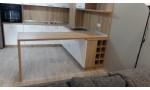 Кухня по индивидуален проект Фара 2 МДФ боя мат