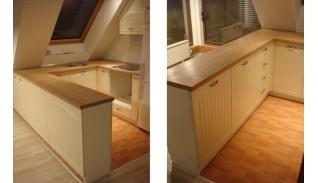 Кухня по индивидуален проект Фара 10 МДФ седеф