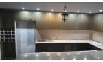 Кухня по индивидуален проект Тами МДФ златен металик