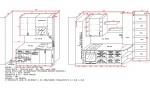 Кухня по индивидуален проект Дъб Ърбан/Лагано