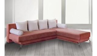 Разтегателен диван с лежанка Тита